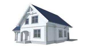 3d mila house model