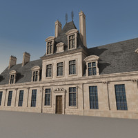 3ds max european building europe