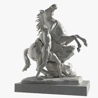 3d max equestrian guillaume coustou -