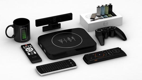 3d model smart tv