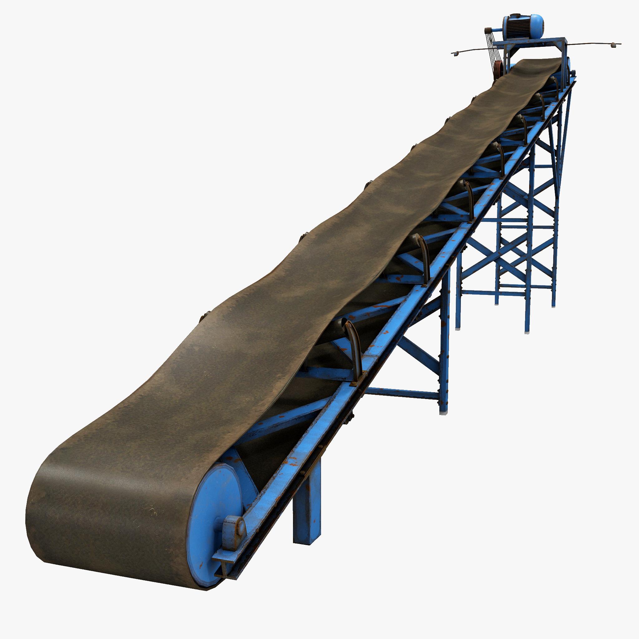 Free Scale Drawing Software 3d Conveyor Belt Model