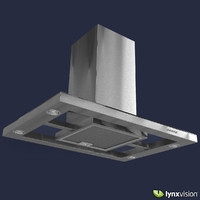 Brushed Steel Cooker Hood