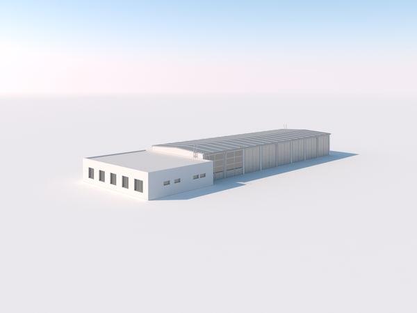 3ds agricultural garage office