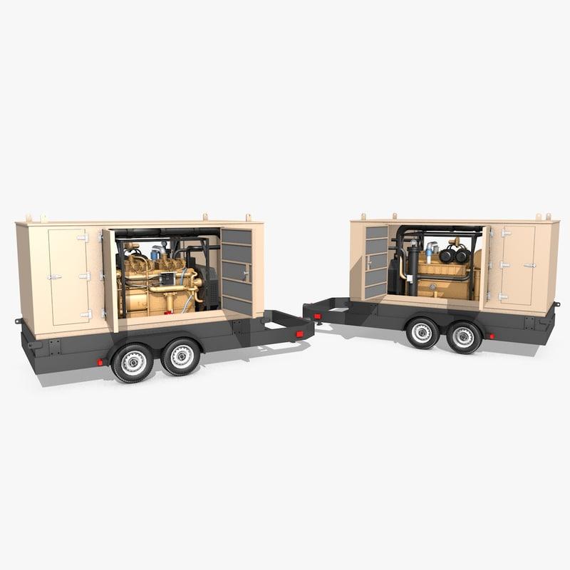 3ds generator industrial engine