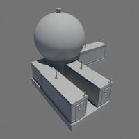 ifics station 3d model