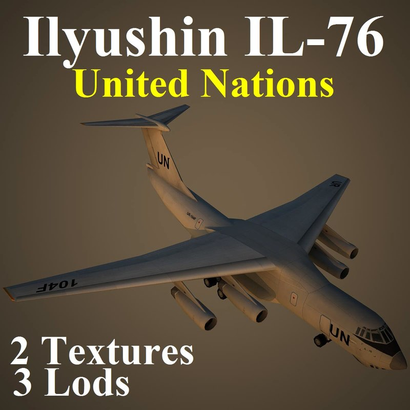 3d ilyushin united nations
