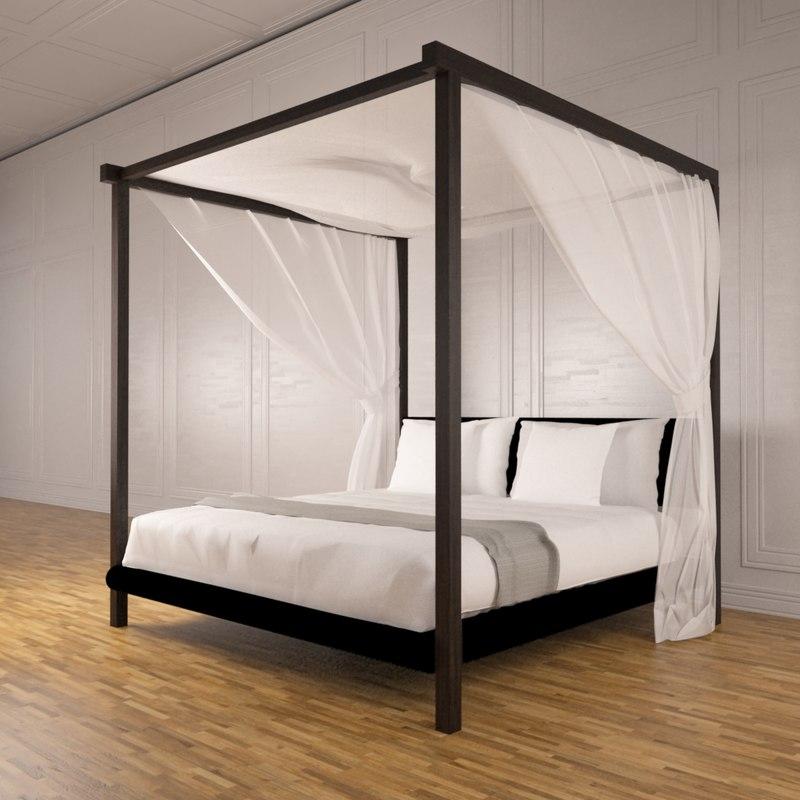 3d post bed model