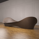 Abstract Bench 3D models