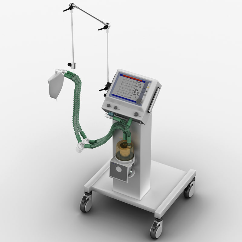 3d medical respirator shangrila 520