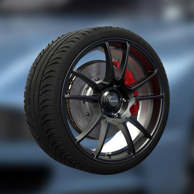 3d nitro mystic wheel