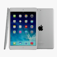 3d model apple ipad air mini