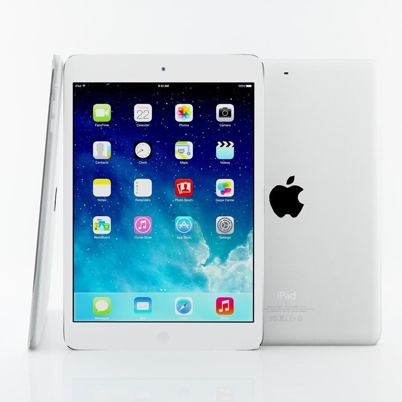 3d model apple ipad air mini