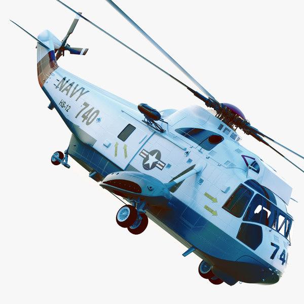 sikorsky navy sh-3h sea king max