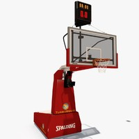 spalding backboard 3d model
