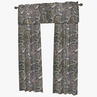 Window Curtain Mossy Oak