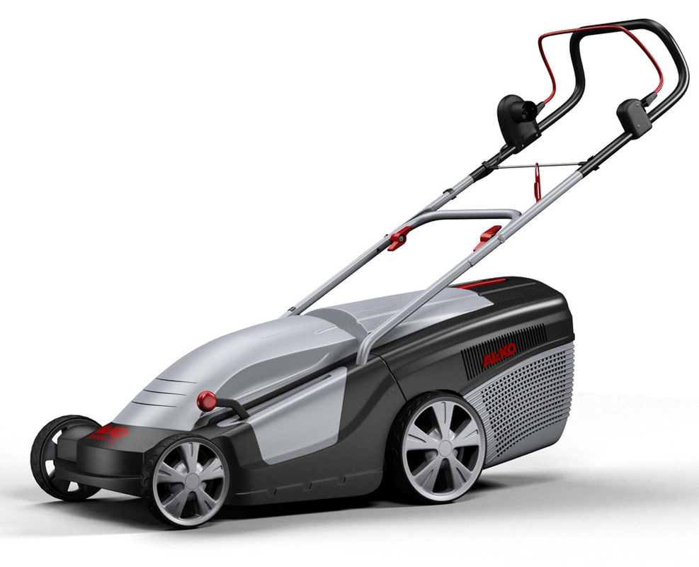 3d model lawn mower al-ko