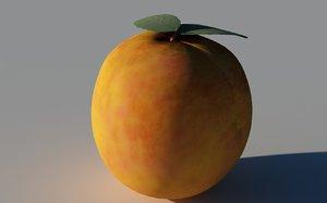 apricot 3d c4d