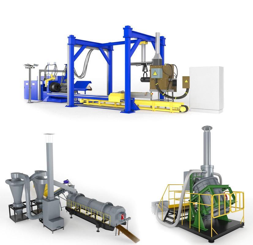 3dsmax factory machine