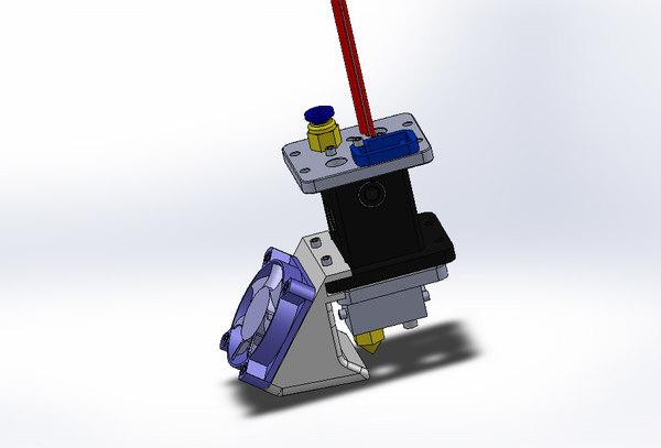 3d extruder printer model