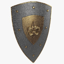 kite shield 3D models