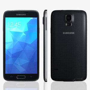 samsung galaxy s5 smartphone 3d obj
