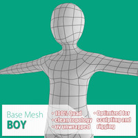 max base mesh boy body