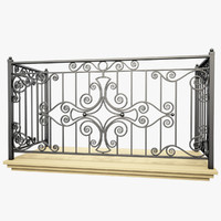 Wrought Iron Balcony 4