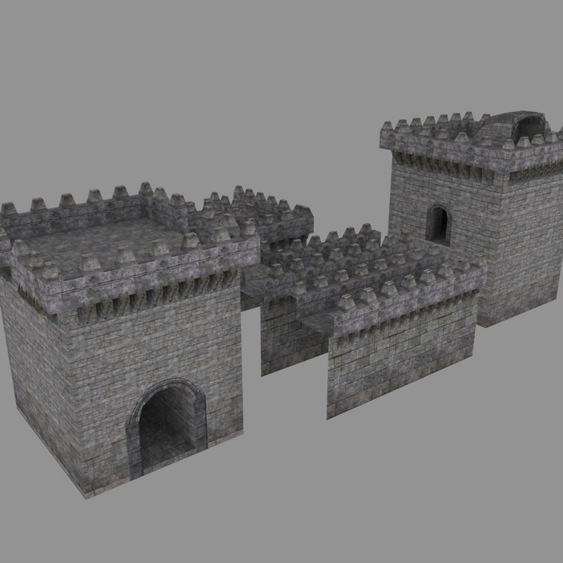 pack castle collision geometry max