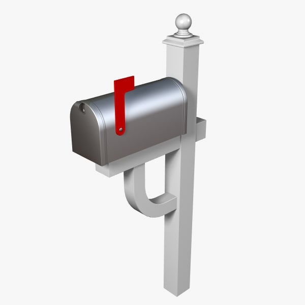 3d mail box