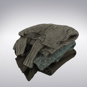 3ds max sweaters scanning