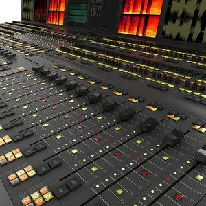 3ds max mixer console