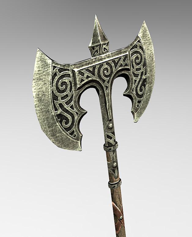 skyrim axe