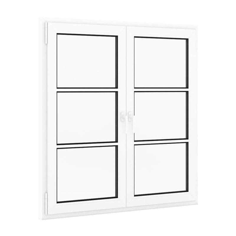 c4d window plastic