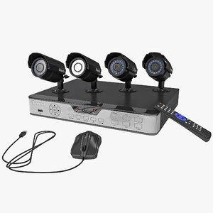 4 ch cctv security max