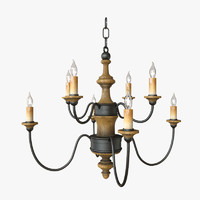 Currey & Company - Abbey Chandelier Lighting