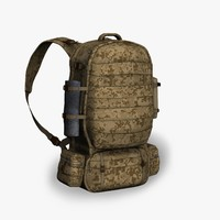 Soldier Backpack01