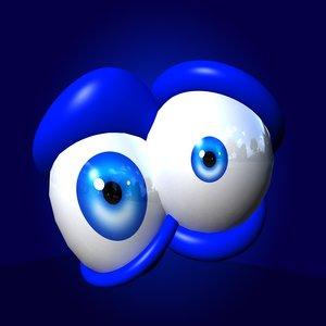 eyes rig 3d ma