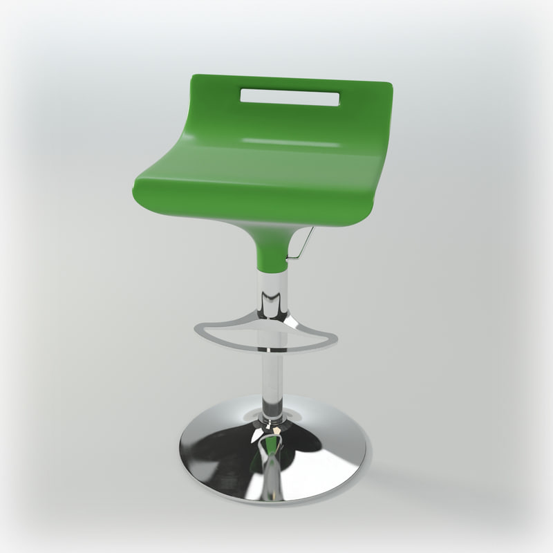 bar-chair audere semper sg 3d model