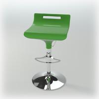 3D model of Bar-chair Audere semper SG 4 by Miniforms