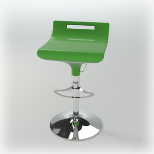 bar-chair audere semper sg 3d model