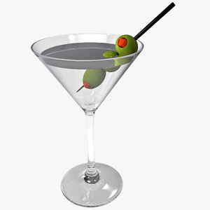 c4d martini olives