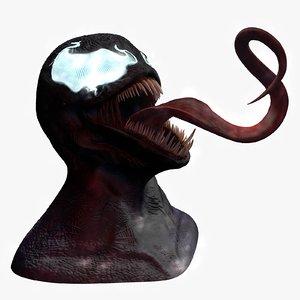 c4d venom character