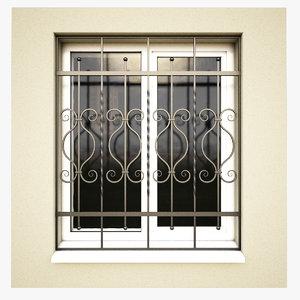 3d windows security bars