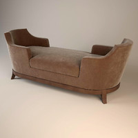 chaise promemoria lounge 3d model