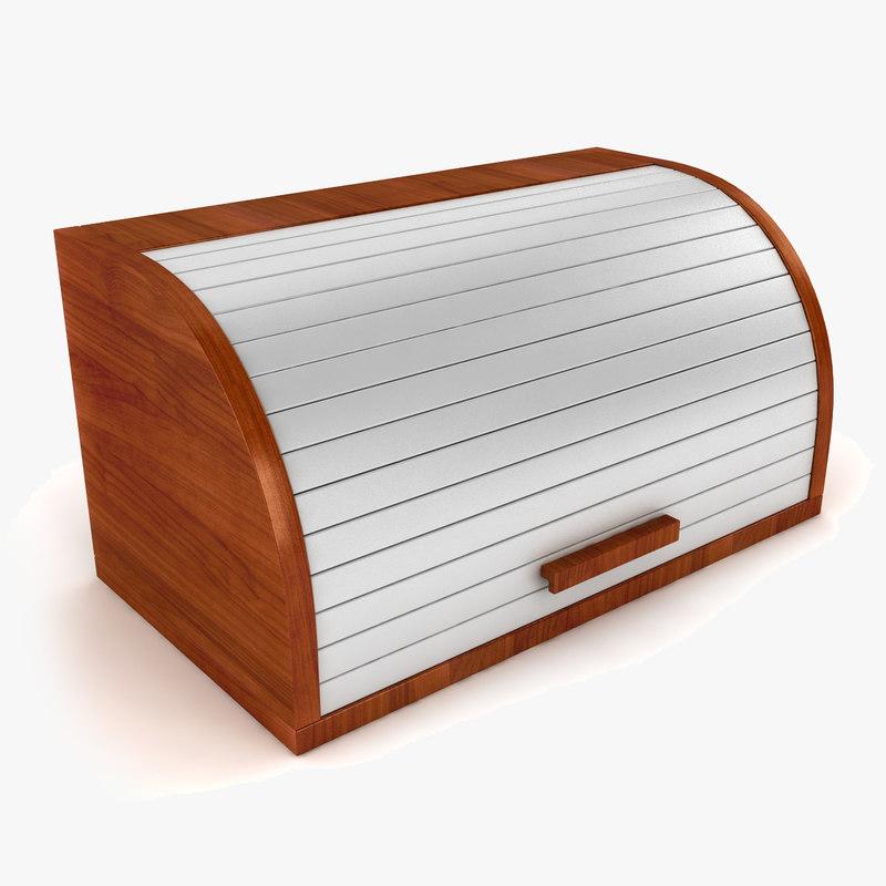 3d model bread box