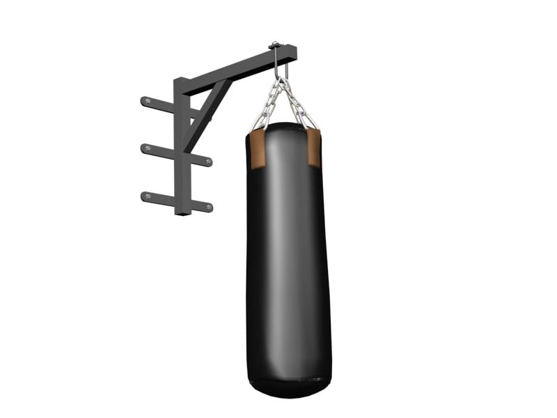 3d wall boxing bag