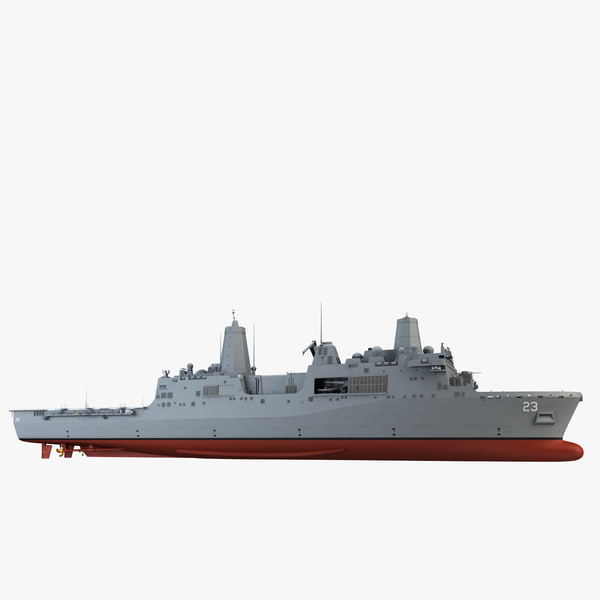 3ds max uss anchorage amphibious