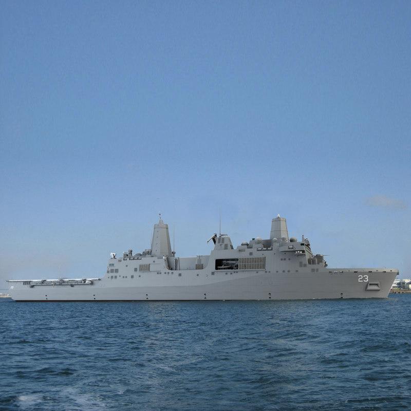 3ds max uss anchorage amphibious