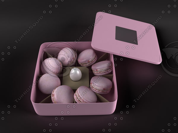 macaron cookies container set max
