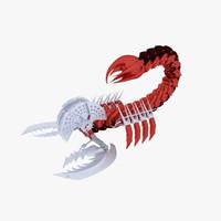 science fiction scorpion 3ds